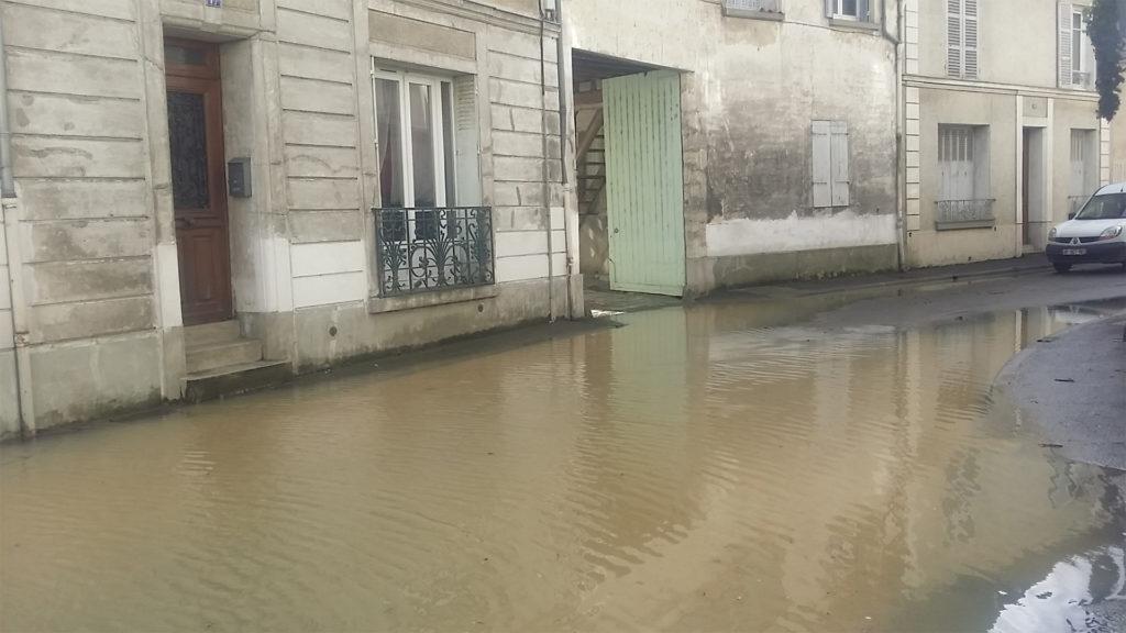 04/02/2020 Inondations de Crécy la Chapelle