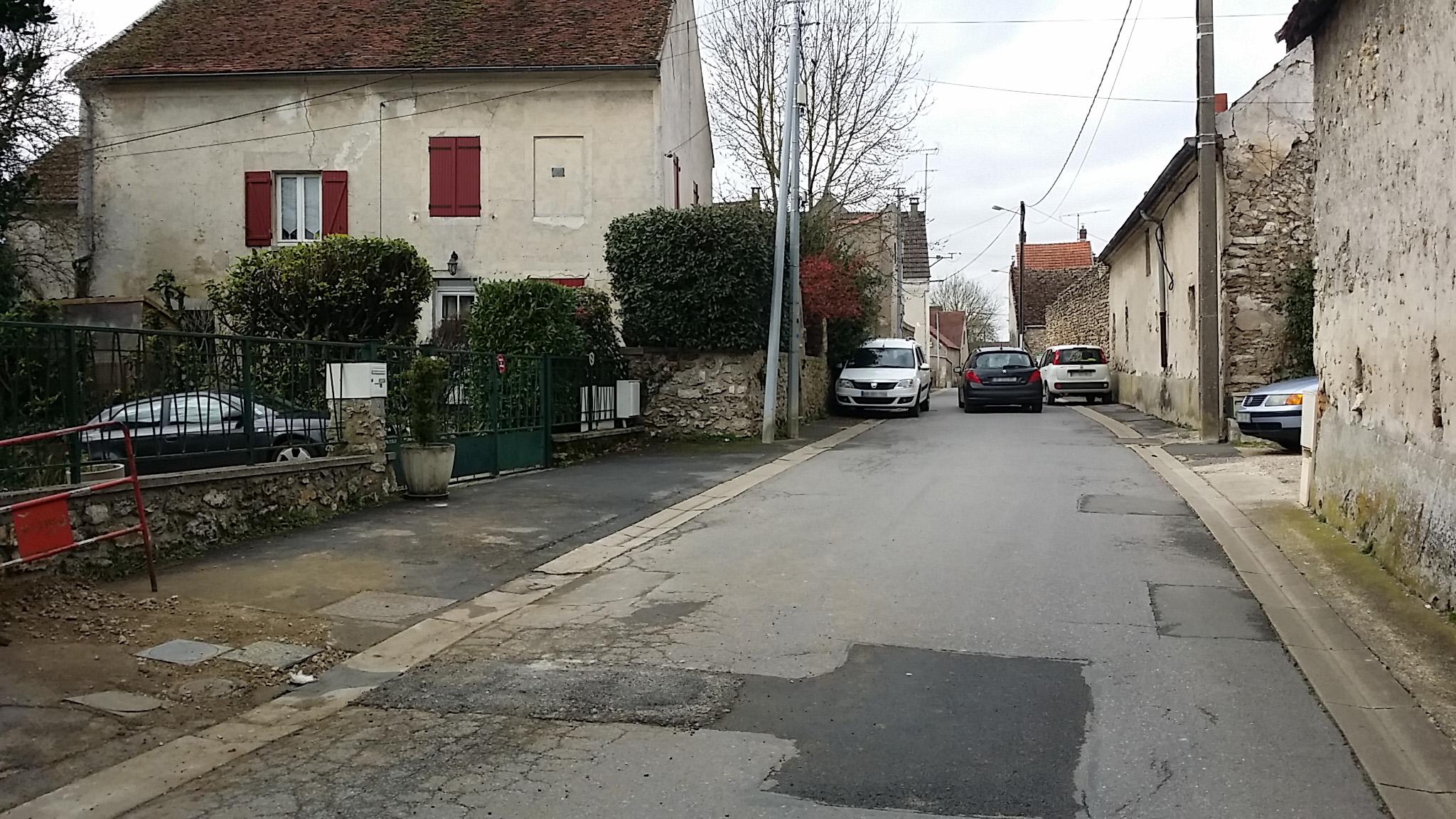 Pb de stationnement rue Sinoël